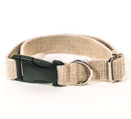 Hemp Dog Collar - Adjustable