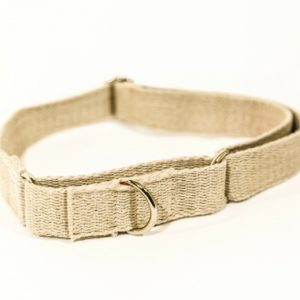 Hemp Dog Collar - Martingale