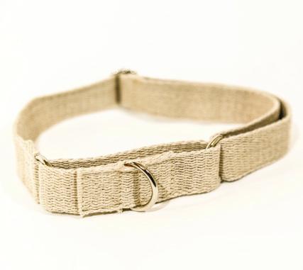 Hemp Dog Collar - Martingale
