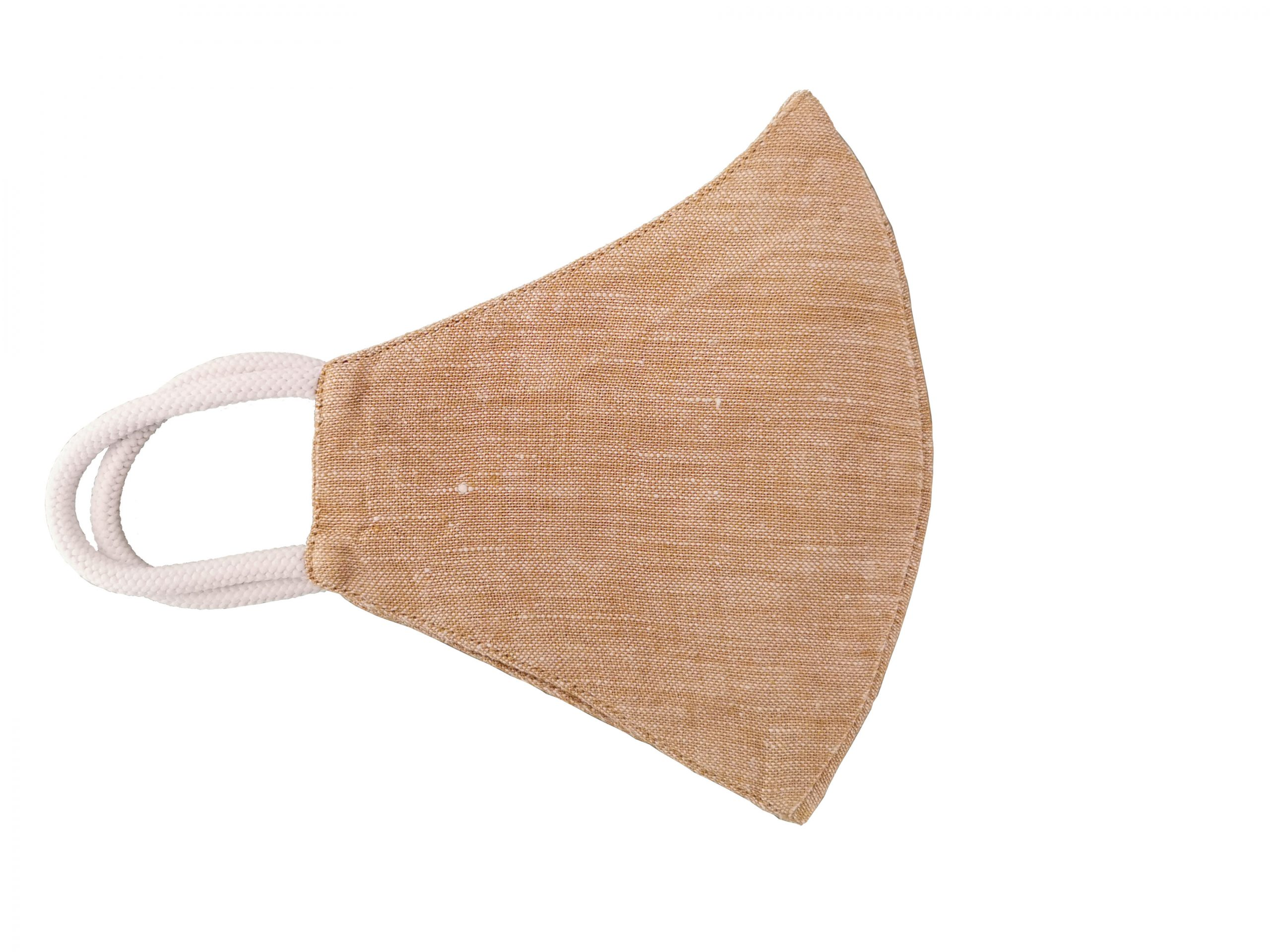 Hemp Face Mask - Beige