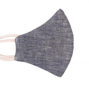 Hemp Face Mask - Navy Blue