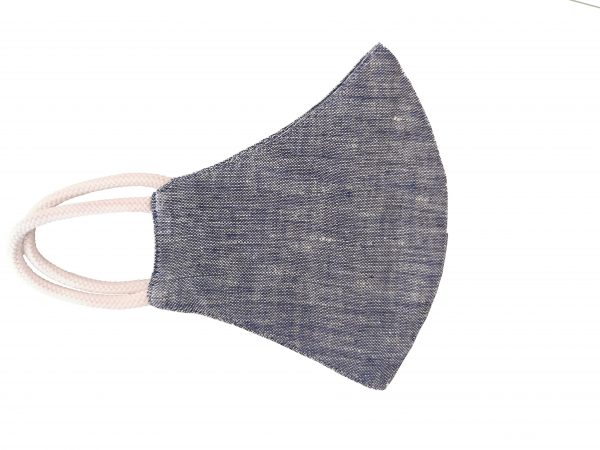 Hemp Face Mask - Navy Blue